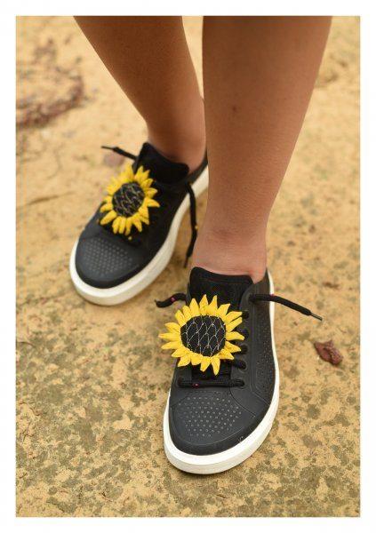 Sunflower Handmade Shoelaces