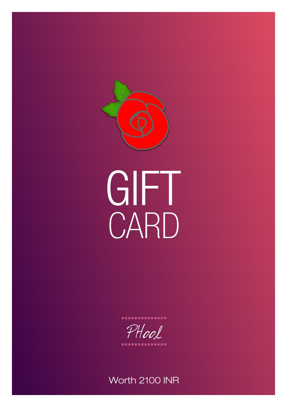 Phool Gift Card