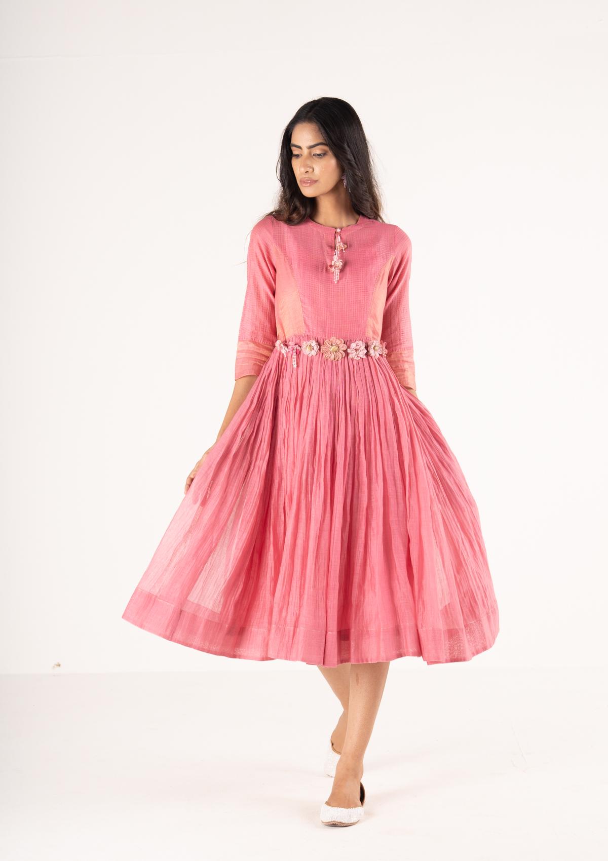 Laleh Pink Dress