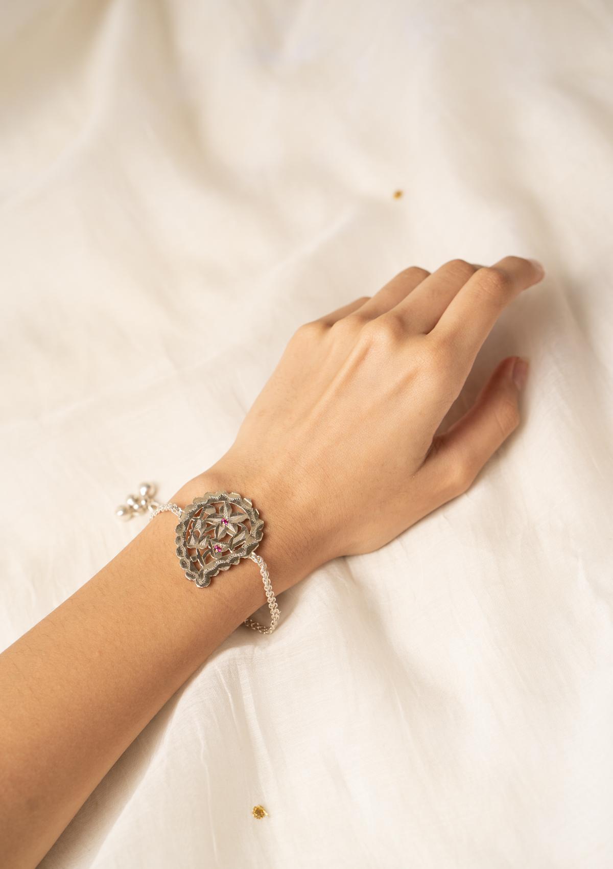 Suhana Silver Bracelet