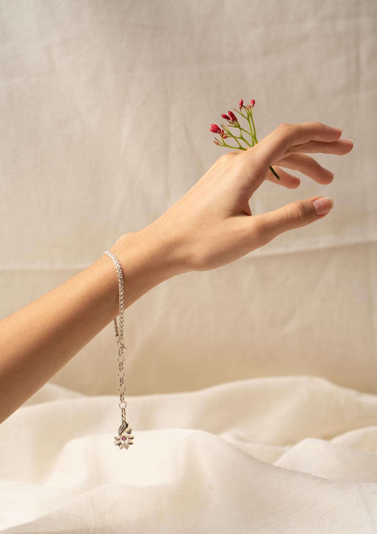 Reshu Silver Bracelet
