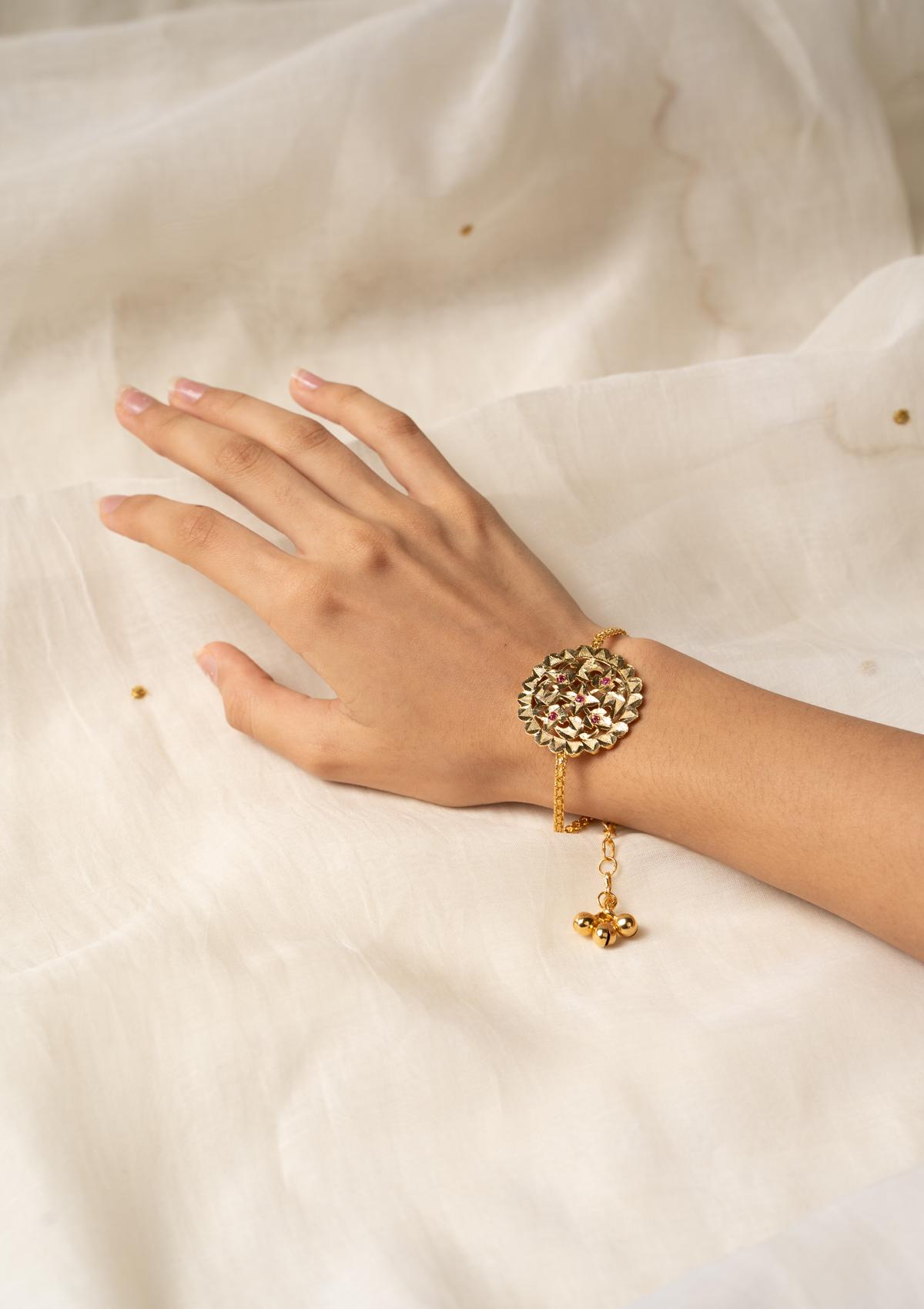 Aarya Silver Bracelet