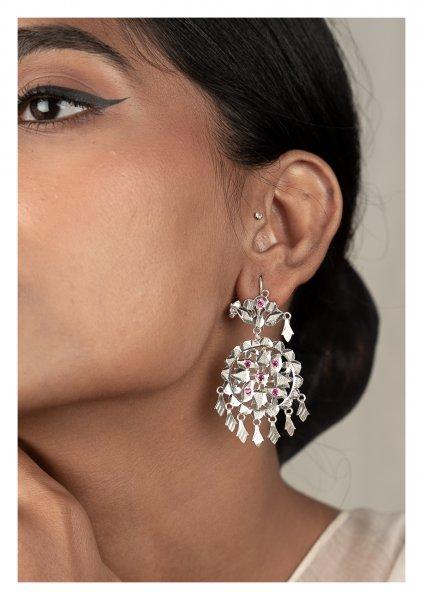 Rangana Silver Earrings