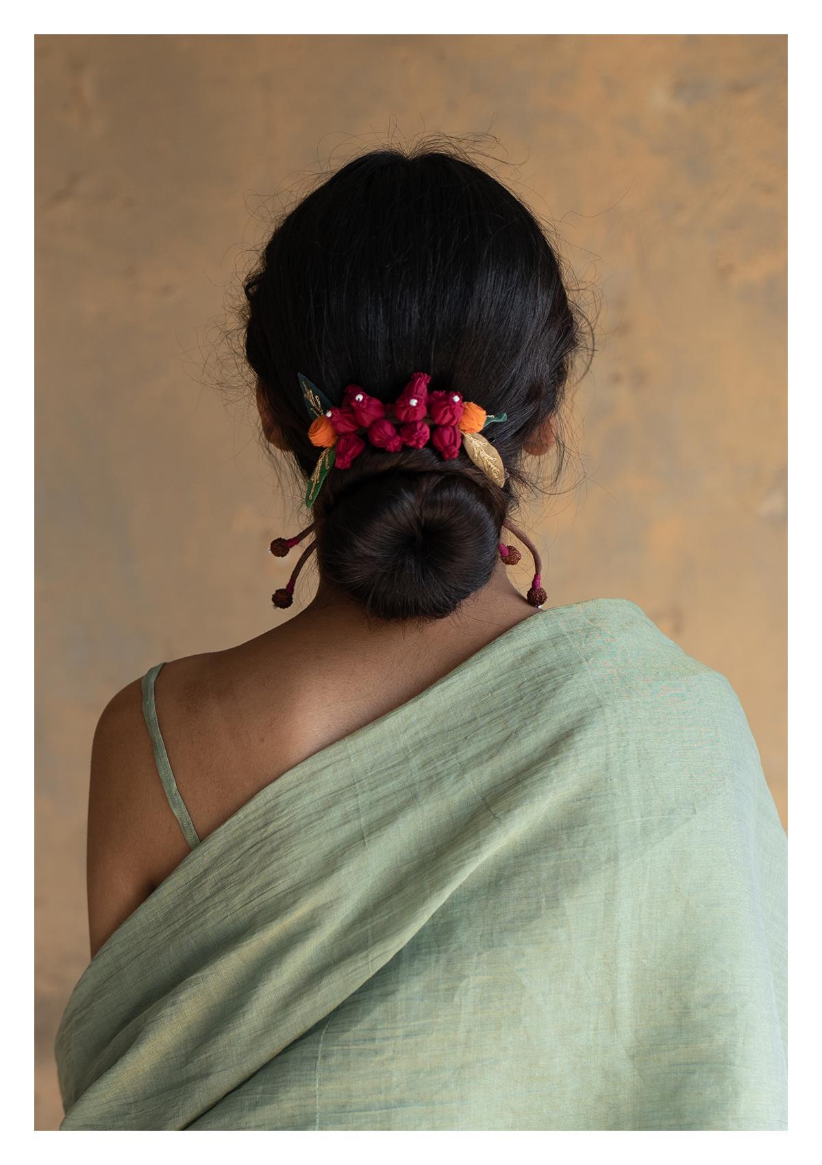 Rangoon Textile Gajra
