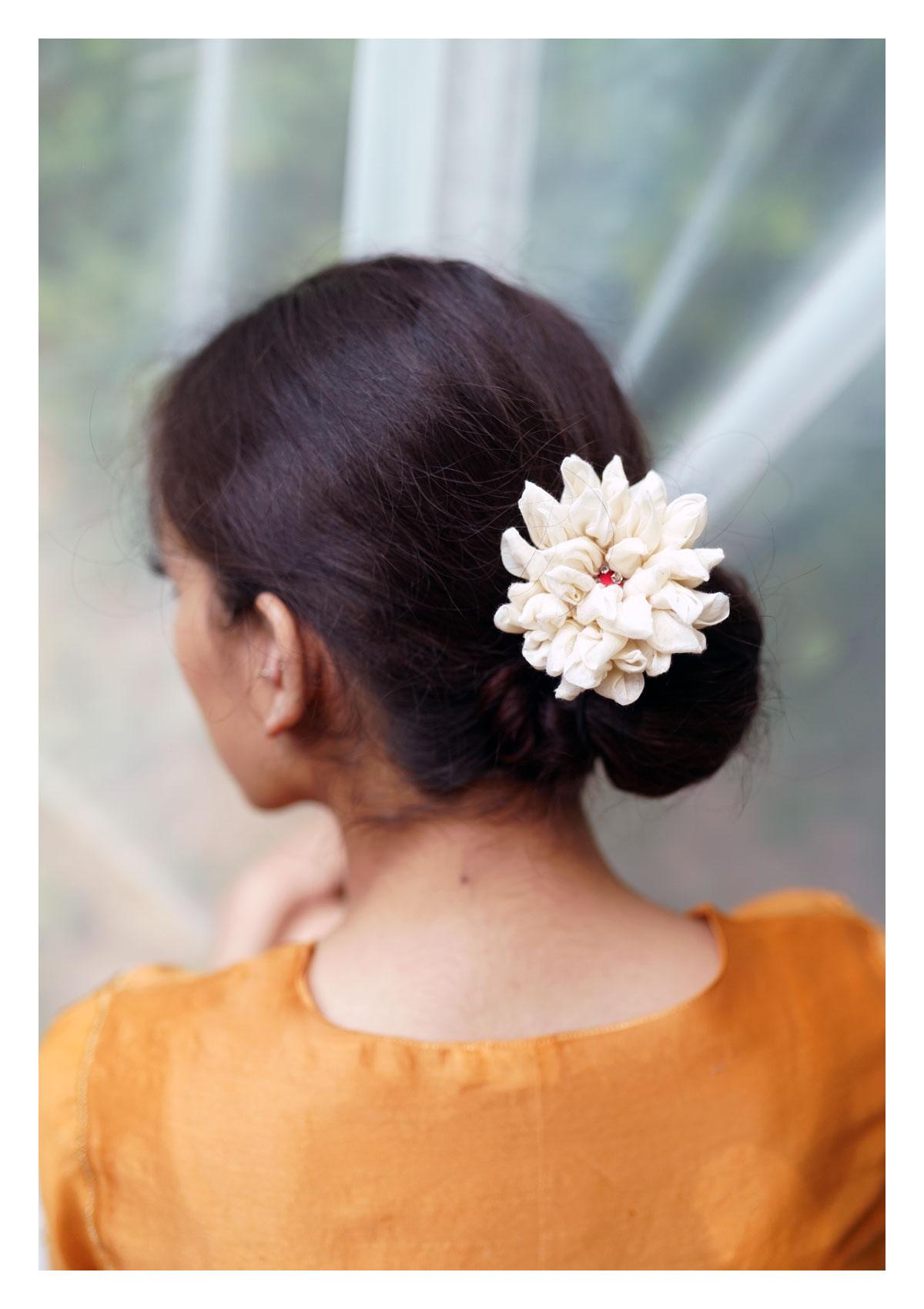 Salvia White Flower Accessory