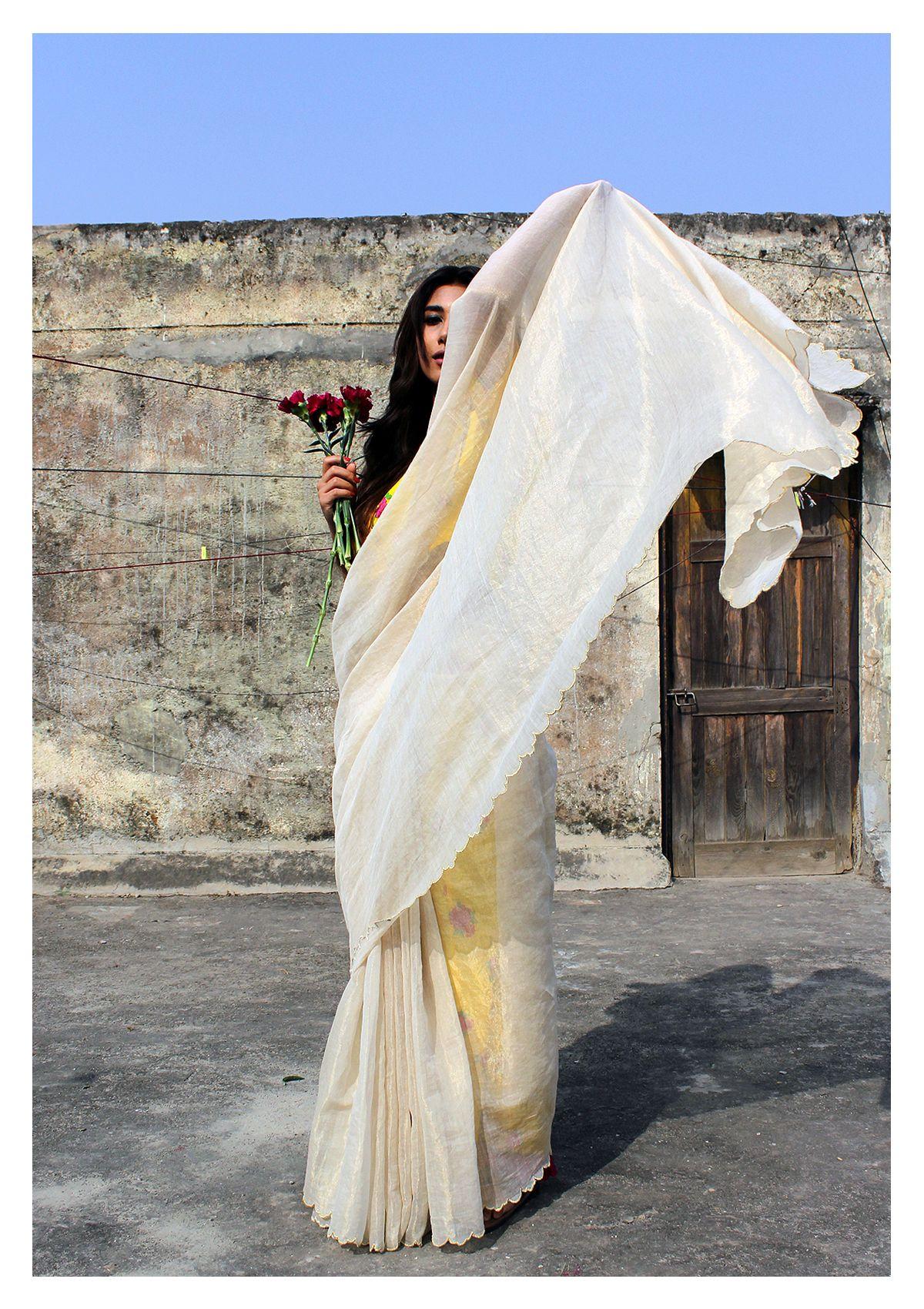 Saraswati Tissue Saree