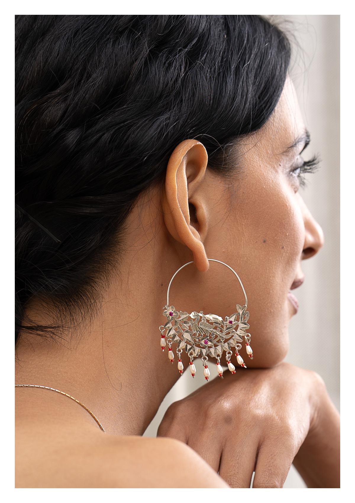 Shamli Silver Earrings