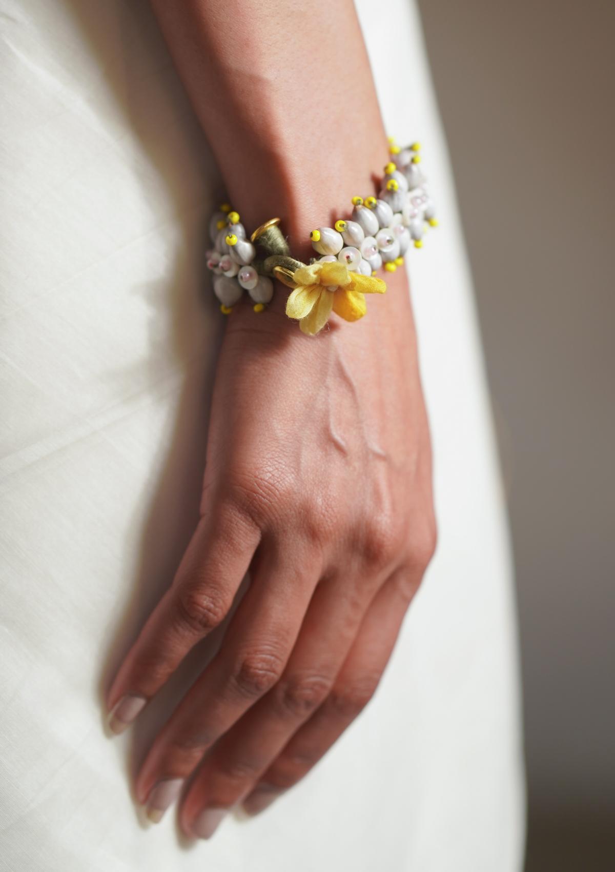 Zena Tulsi Bead Bracelet