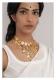 Sharbano Gold Tone Silver Necklace