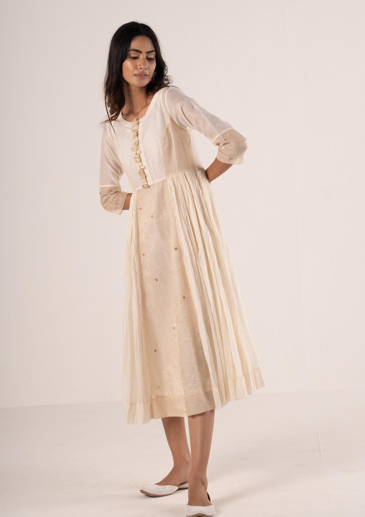 Alpo Ivory Dress