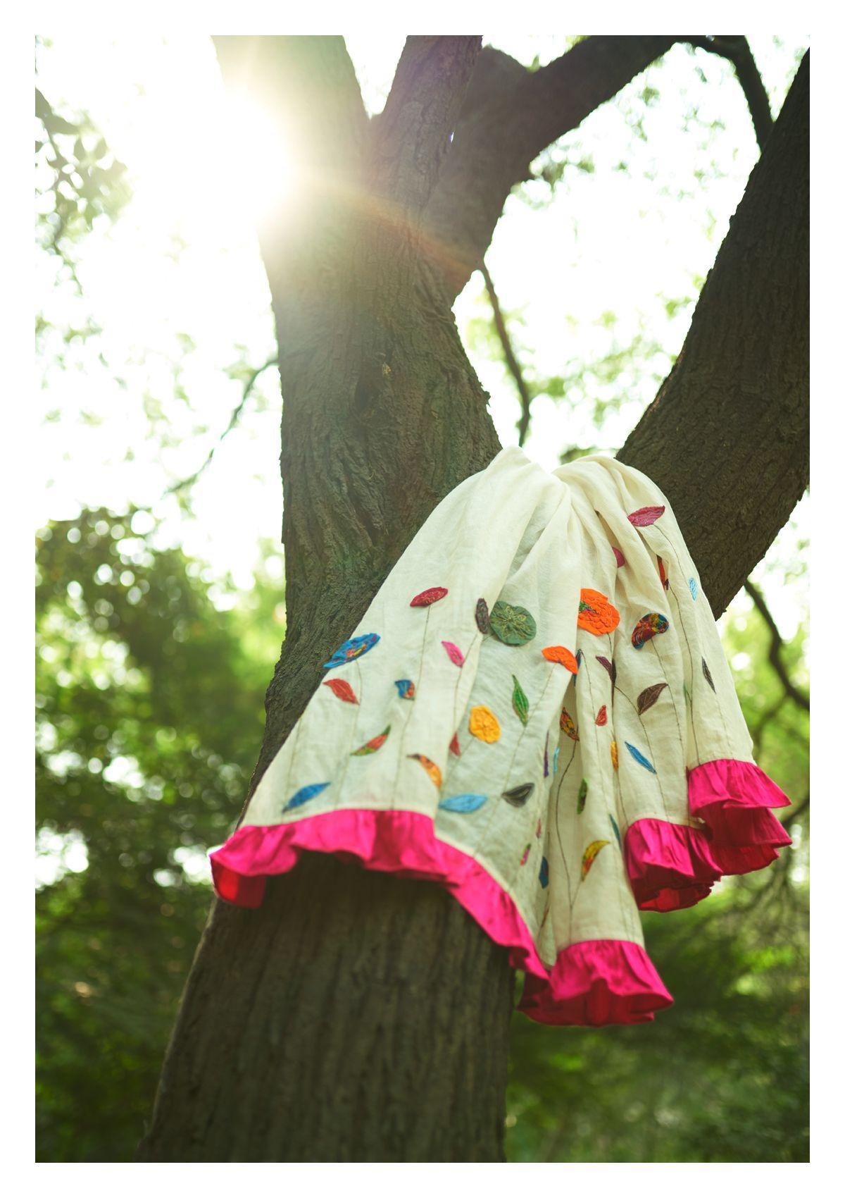 Maaza Handmade Tissue Chanderi Dupatta