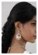 Zahra Silver Earrings