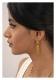 Zoya Gold Tone Silver Earrings