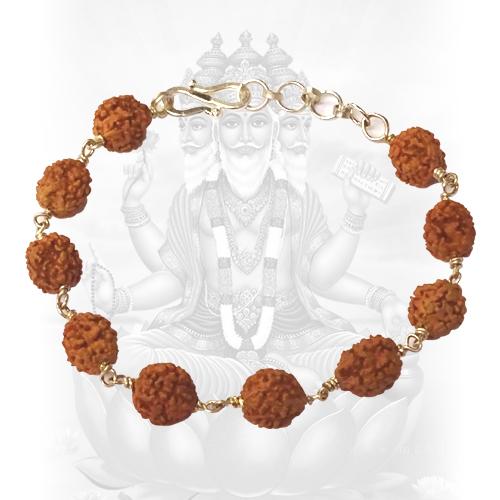 4 Mukhi Brahma Bracelet