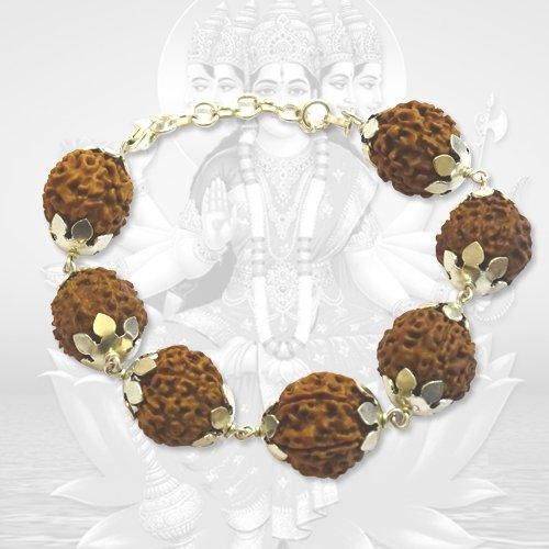 7 Mukhi Nepalese Mahalakshmi Bracelet in Silver