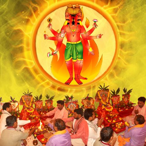 Lord Agni Mantra Japa & Puja