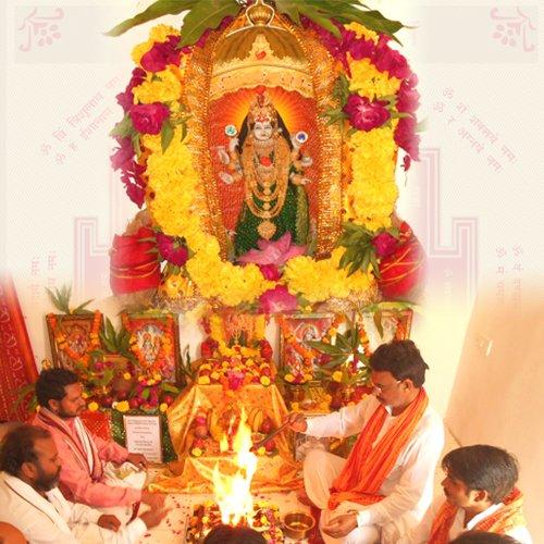 Devi Bagulamukhi Puja