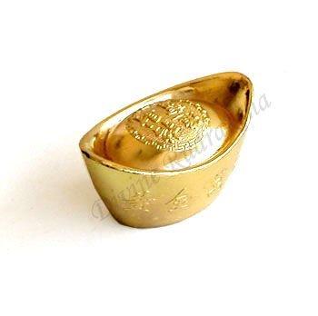 Golden Plated Ingot