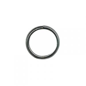 Black Horse Shoe Ring ( Set of three rings )