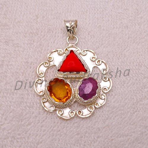 Gems Pendant for Leo (Singh) 1