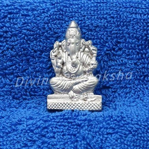Parad Ganesha Idol