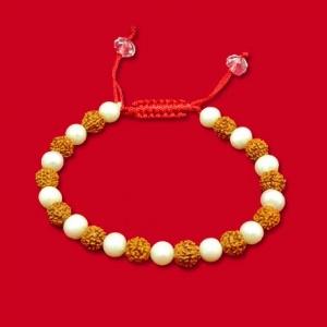 Rudraksha Pearl Bracelet