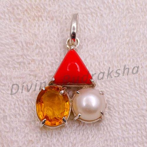 Gems Pendant for Scorpio (Vrischik)