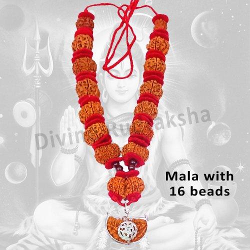 1-14 Mukhi Shiva Shakti Mala in thread - Nepalese