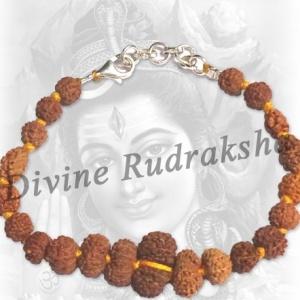 Shiva Shakti Bracelet in thread