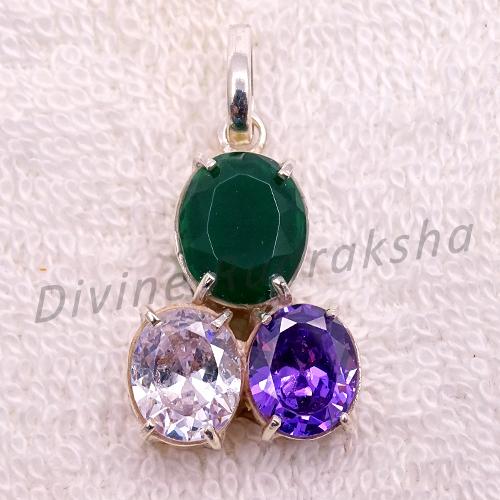 Gems Pendant For Capricorn (Makar)