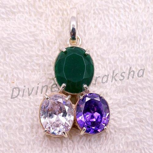 Gems Pendant for Taurus (Vrishabh)