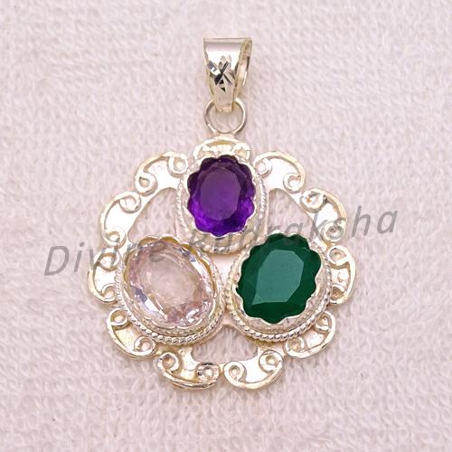 Gems pendant for Capricorn (Makar) 1