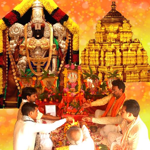Venkateshwara Balaji Puja & Homam