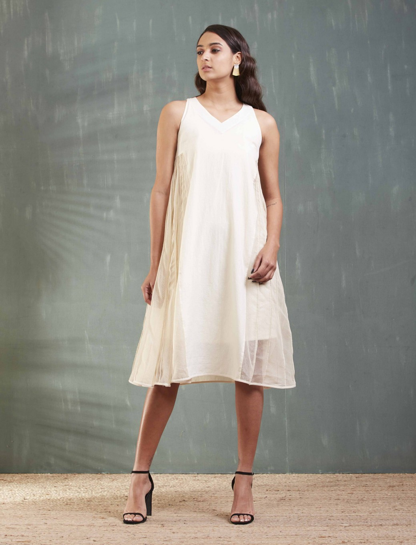 Sleeveless Mulmul Dress