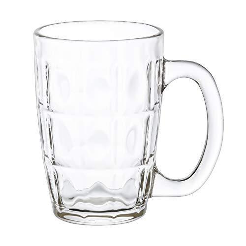 Clear Glass Neolo Beer Mug - 300 ML - Set of 3