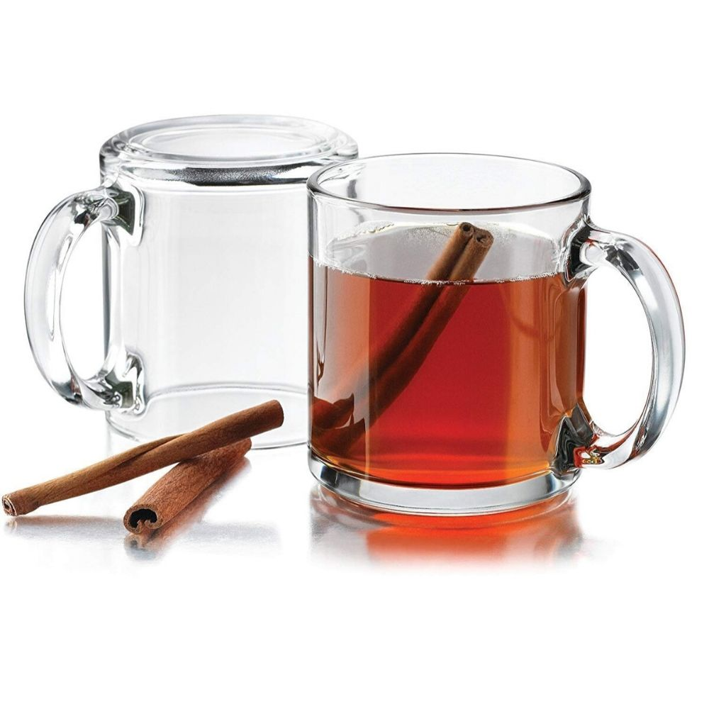 Indian Ceramic Clear Glass Nora Tea Cup 200 ml