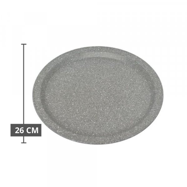 Carbon Steel Stone Ware Non-Stick Coated Baking Dish and Pizza Pan, Set of 2