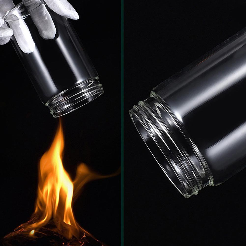 Borosilicate Glass Jar with Brush - 250ml