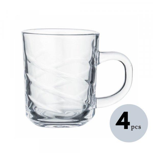Indian   Glass Cross Tea Cup  Coffee up  220 ML
