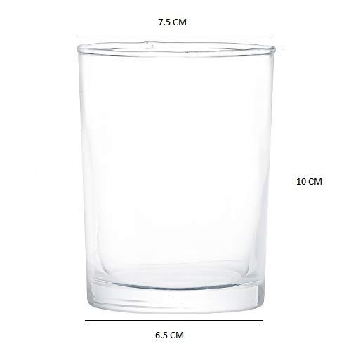 Clear Glass Tumbler - 230 ML, Set of 4