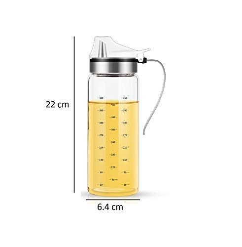 Borosilicate Glass Oil Bottle Dispenser -500 ML