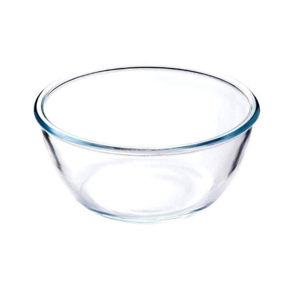 Borosilicate Glass Mixing Bowl - 2100ml