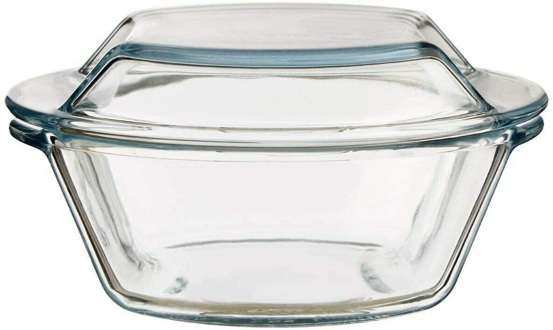 Borosilicate Glass Microwave Safe Casserole - 500ML