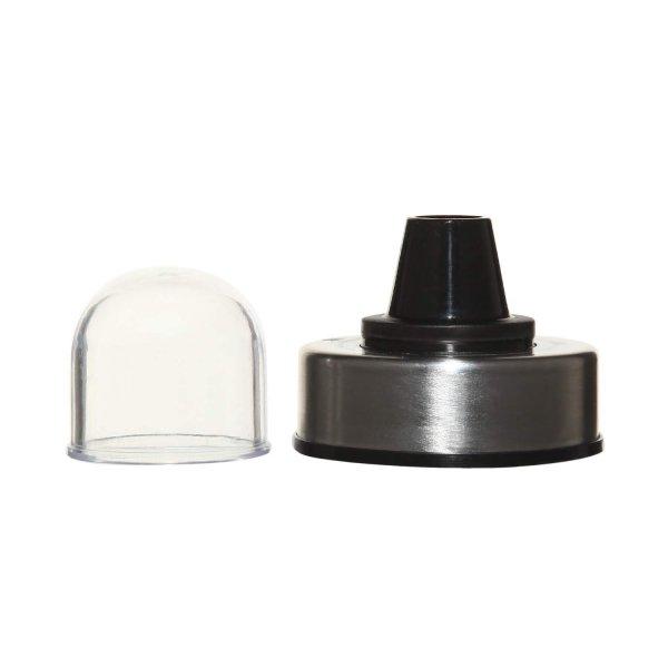 Borosilicate Glass Spice Jar Bottle with Lid, 500 ML
