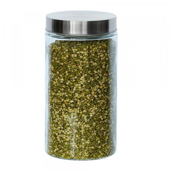 Glass Cylinder Storage Jar-1600ML
