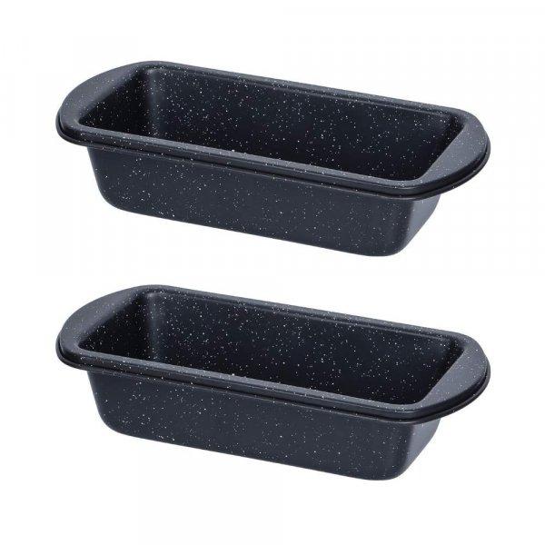 Carbon Steel ILAG Black Coating Small Loaf Pan - Set of 2