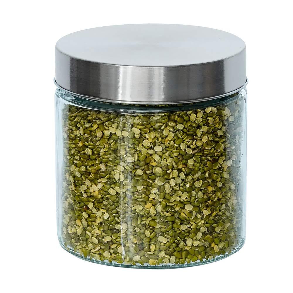 Glass Cylinder Storage Jar-750ML