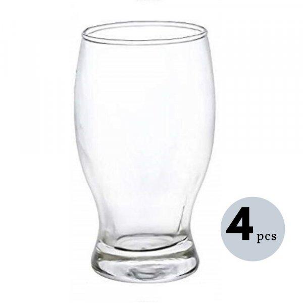 Clear 4 Glass Juice Tumbler - 250 ML