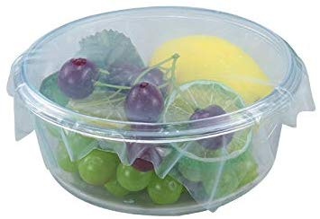 Silicon Flexible  Microwave Safe  Lids - Set Of 2