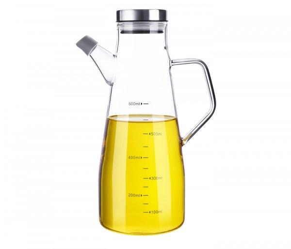 Borosilicate Glass Oil Bottle - 650 ML